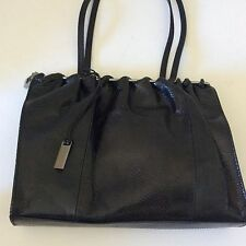 Authentic Gucci Black Snake Embossed Leather Limited Edition Handbag