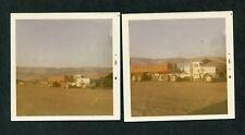 Vintage 1969 Color Photos Peterbilt Semi Truck & Trailer 403191