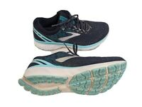 Brooks Ghost 11 Womens US 9.5B EUR 41 Blue Running Shoes