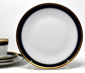 Suppenteller Hutschenreuther Noblesse Echt Kobalt Goldbordüre 22,5 cm 1 von 9