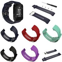 Silicone Rubber Watch Band Strap + Tools For Garmin Forerunner 35 GPS Watch #IP