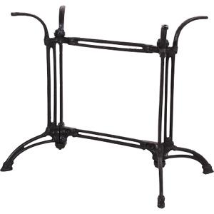 Tischgestell Tischfuß Standfuß für rechteckige Tischplatte Gußeisen 82x50x70cm