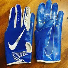 Blue Nike Vapor Jet 5 Football Gloves Adult Size XL 5.0 WR RB CB TE LB