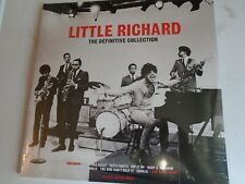 LITTLE RICHARD The Definitive Collection 3 x LP red vinyl 2017 NEW SEALED