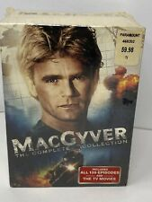 MacGyver - The Complete Series (Dvd, 2015) 39 Episodes + Tv Movies