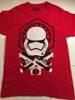 STAR WARS Red Graphic T-Shirt Men's Stormtrooper Size M