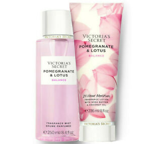 Victoria's Secret Pomegranate & Lotus Fragrance Lotion + Fragrance Mist Duo Set