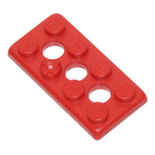 100 K'Nex Bricks - 2x4 Flat Red Standard Replacement Parts and Pieces