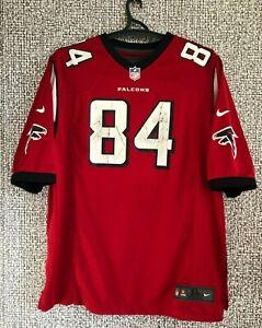 Altanta Falcons #84 Roddy White Nike NFL Football Jersey Shirt  Mens Size XL