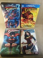 Lot Of 4 Superman And Wonder Woman DC Comics Graffic Novel New Sealed