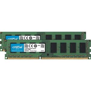 16GB Crucial DDR3L 1600MHz CL11 Dual Channel Kit (2x 8GB)