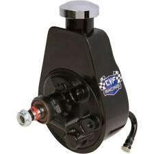 Black Saginaw Power Steering Pump Keyway Style Chevy Ford GM Chrysler PS OEM