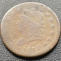 1811 Large Cent Classic Head One Cent 1c Rare Better Grade #22623