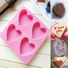 Heart Love Silicone Fondant Cake Molds Soap Chocolate Mould HQ Popular !!!
