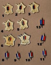 Pin's armée / insigne armée de terre (13 pin's disponibles au choix)