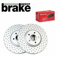 Seat Leon Cupra R Brake Discs and Brembo Pads Brake Depot C Hook Discs 323mm