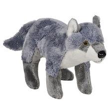 Adventure Planet Plush Pounce Pal - WOLF (7.5 inch) - New Stuffed Animal Toy