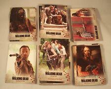 The WALKING DEAD Season 3 Part 1   Complete Trading Card Base Set