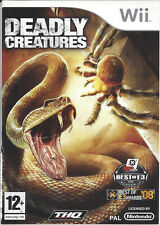 DEADLY CREATURES for Nintendo Wii - PAL