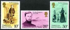 Tristan da Cunha 287-289,289a S/S, MNH. Rev. Dodgson,saved from starvation, 1981