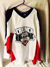Game Worn AHL Warm Up Back Up Derek Gustafson Syracuse Crunch Jersey