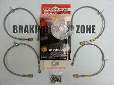 24215 Goodridge Stainless Steel Brake Line Kit 02-07 Subaru Impreza, WRX, & STI