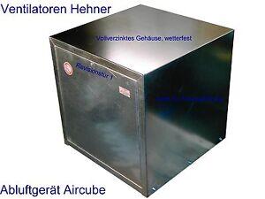 Abluftgerät / Airbox / Kasten Gebläse  Lüftungsgerät Ventilator 3950 m³/h Lüfter