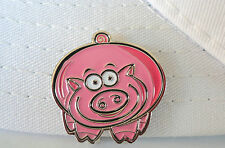 Piggie Golf Ball Marker - W/Bonus Magnetic Hat Clip
