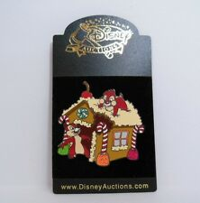 Disney Auctions ~ Chip & Dales Holiday Gingerbread House DA LE Pin
