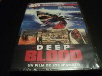 "DVD NEUF ""DEEP BLOOD"" film d'horreur de Joe D'AMATO / Francais - English"