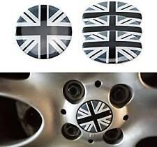 50mm Union Jack MIni Wheel Alloys Center Stickers Emblem COOPER ONE CLUBMAN