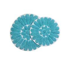 Chesapeake Merchandising Bursting Flower 2-pc. Bath Rug Set