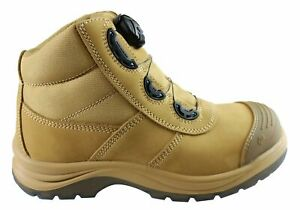 Kinggee Tradie Boa Steel Toe Cap Work Boots Mens - WorkWearZone
