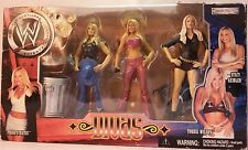 Divas Action Figure WWE Wrestling Jakks Pacific Rare Trish Torrie Stacy Blister