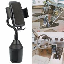 Adjustable Car Gooseneck Cup Holder Cradle Mount Stand For Universal Cell Phone