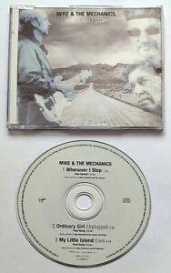 Mike & The Mechanics Whenever I Stop (CD Single) - 3 Tracks - Virgin - (1999)
