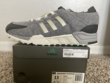 Adidas EQT Wool AQ8454 Grey Core Black White Support Running Shoes Sz.13 Nmd