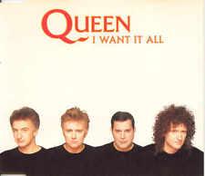 QUEEN - I want it all 3TR CDM 1989 POP ROCK / CLASSIC ROCK