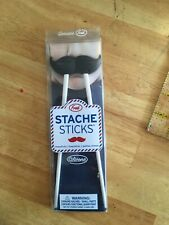 Fred and Friends Stache Sticks Hinged Chopsticks