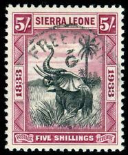 MOMEN: SIERRA LEONE SG #178 1933 USED LOT #60032