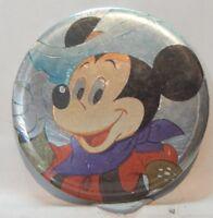 Vintage Disney Pin Badge Mickey Mouse foil 7.5 cm's
