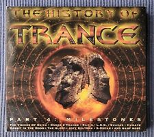DOPPEL CD THE HISTORY OF TRANCE PART 4: MILESTONES - VARIOUS ARTISTS