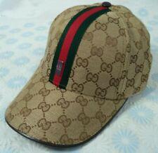 GG Logo Hat Brown Baseball Cap