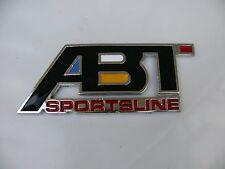 3D ABT Aluminum Emblem Badge Sticker Decal Audi Volkswagen VW Racing Golf Jetta