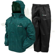 Frogg Toggs All Sport Rain Suit Jacket & Pants Gear Wear Sports Frog Green MD