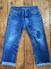 LEVIS 501xx jeans big E LVC selvedge size 36-37 USA 501 xx w36 w37 selvage