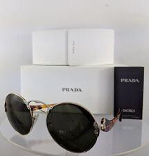 5d4b87447dce Brand New Authentic Prada Sunglasses SPR 55T ZVN 4J1 Gold Frame Tortoise  57mm
