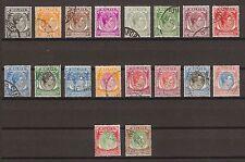 SINGAPORE 1948-58 SG 16/30 USED Cat £60