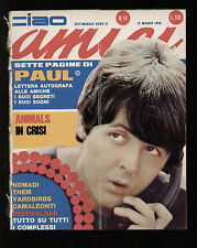CIAO AMICI 14/1966 McCARTNEY ANIMALS MESSA BEAT YARDBIRDS VILLANI VLADIMIRO THEM