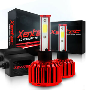 LED Headlight 130W 48000 Lumens Kit Xentec H1 H4 H7 H10 H11 H13 9012 9005 9006